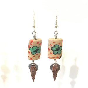 Earrings - Desert Flower Earrings - 5:100 Day Project