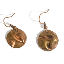 Load image into Gallery viewer, Earrings - Rosemary Copper Earrings