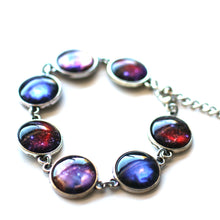 Load image into Gallery viewer, Earrings - Star Dust Images 14mm Silver Plated Bracelet