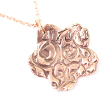 Load image into Gallery viewer, Necklace - Flourish Sakura Copper Small Pendant // Perfect Gift For Her