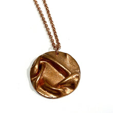 Load image into Gallery viewer, Necklace - Ripley Copper Circle Pendant