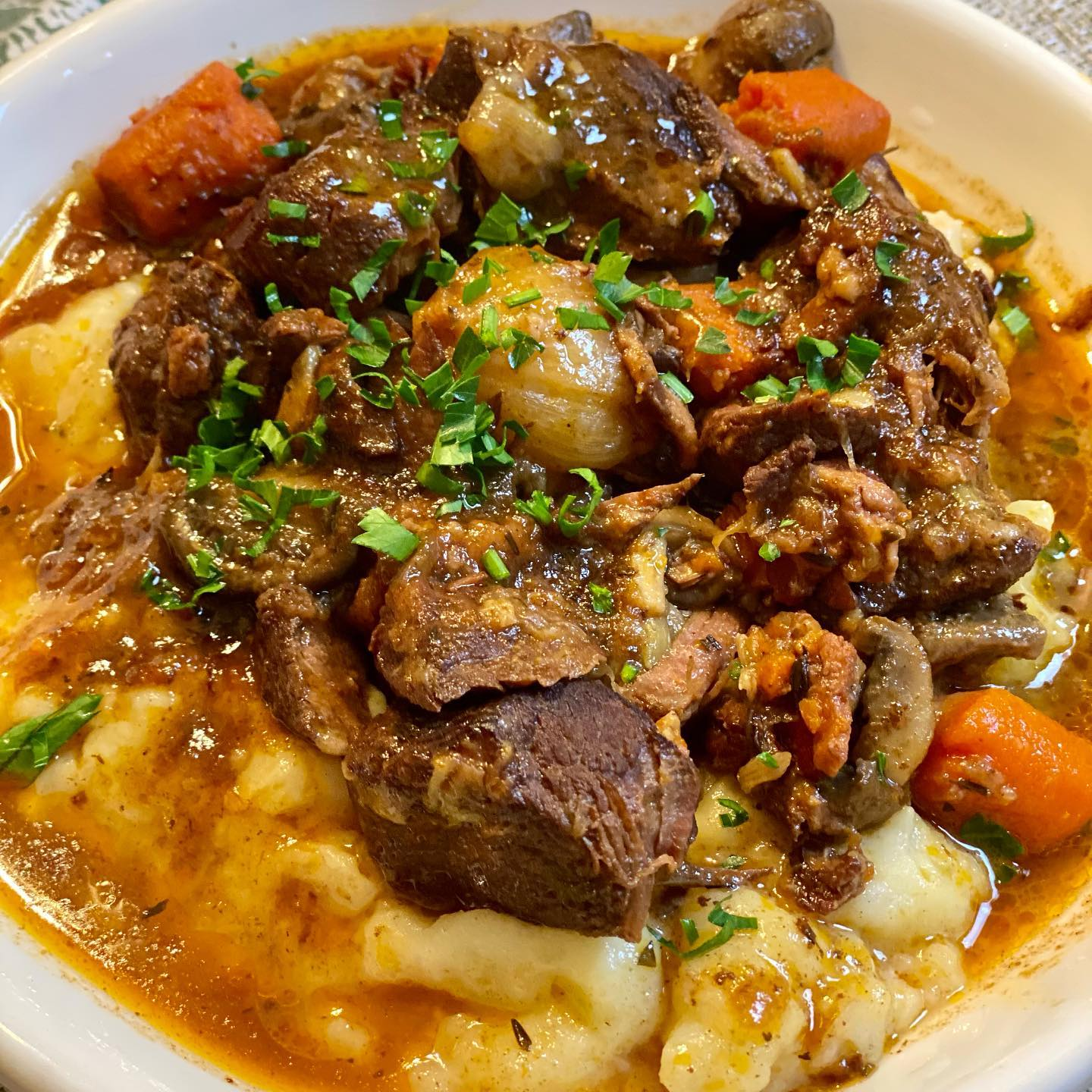 Julia Child's Famous Beef Bourguignon