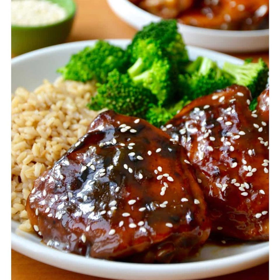 Yummy Honey Lime Soy-Glazed Chicken Thigh
