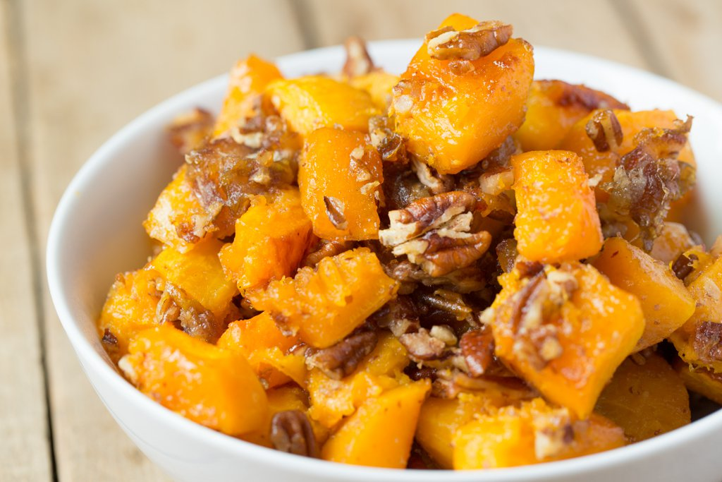 Crave this: Maple Pecan Butternut Squash, Sweet and Satisfying