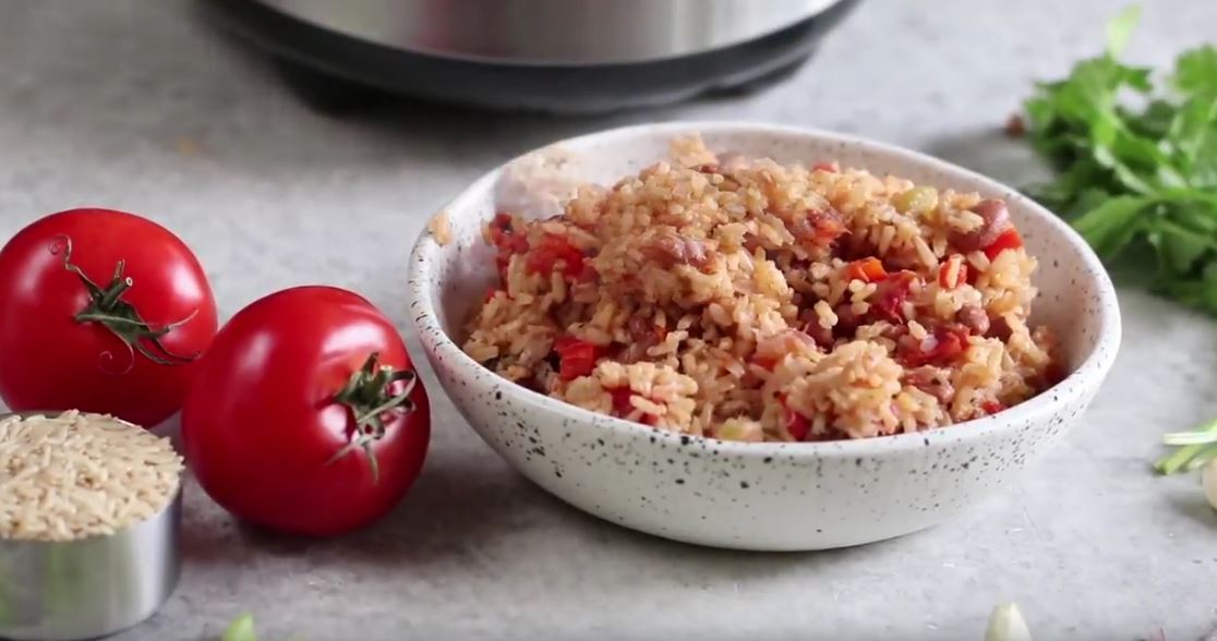How To Cook Rice and Beans (Video Recipe)