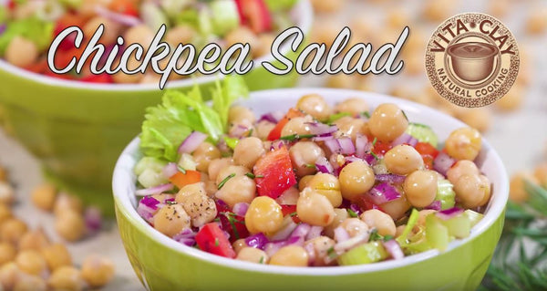 Chickpea Salad (Video Recipe)