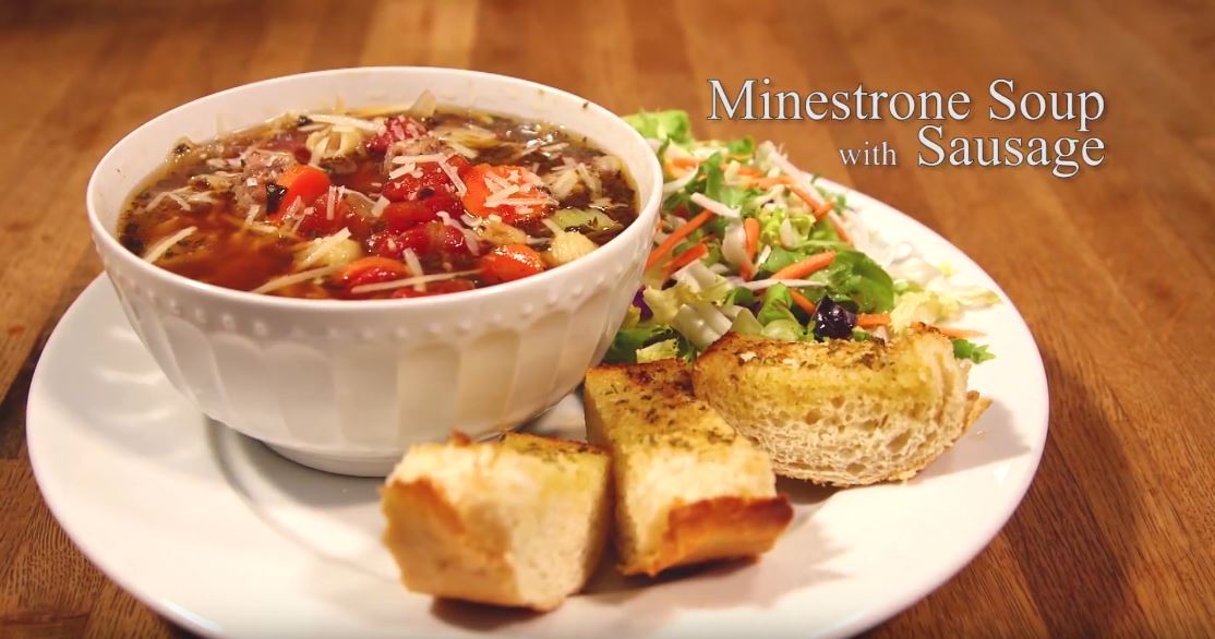 Easy 30 minute MINESTRONE SOUP (Video Recipe)