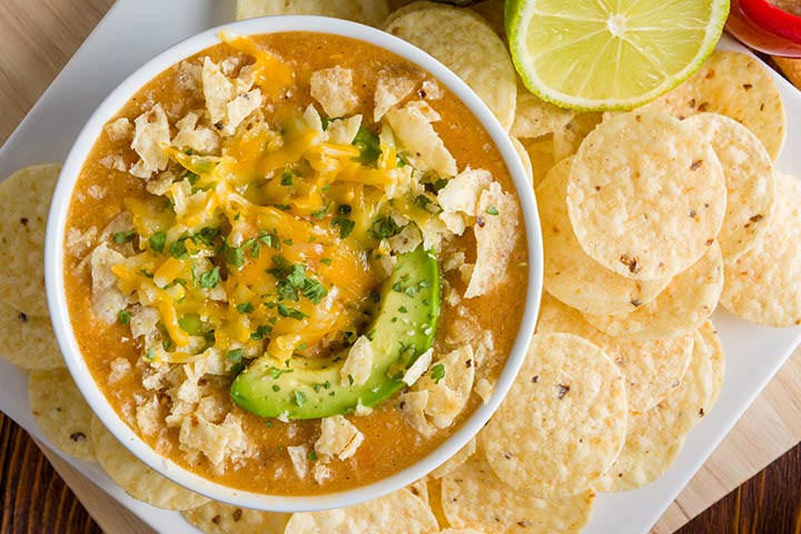 Soup Sunday is Here: Fiesta Chicken Enchilada Soup