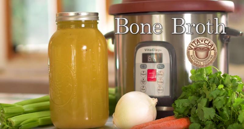 Making Bone Broth in VitaClay Fast Slow Cooker: Is It Worth It? The economics of Commercial made bone broth vs. homemade bone broth