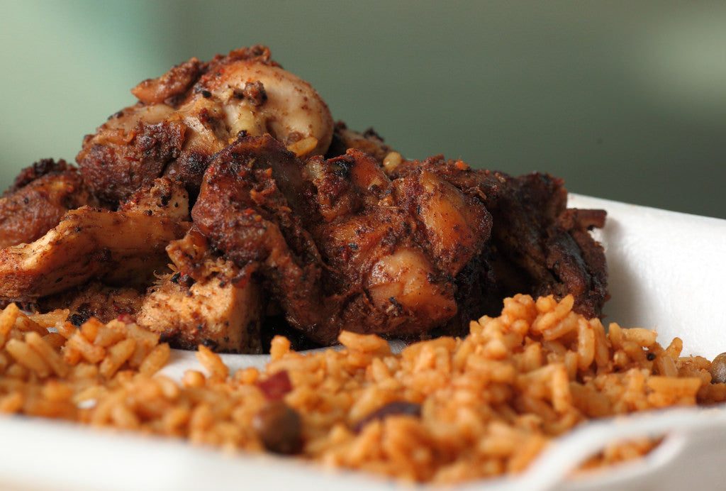 One Pot Red Rice & Chicken: Perfect in Clay! (7700 & 7900 ONLY!)