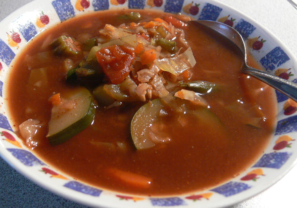 Detox Soup with Zucchini