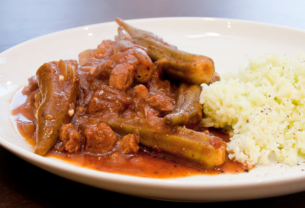Authentically Exotic: Lebanese Lamb and Okra Stew