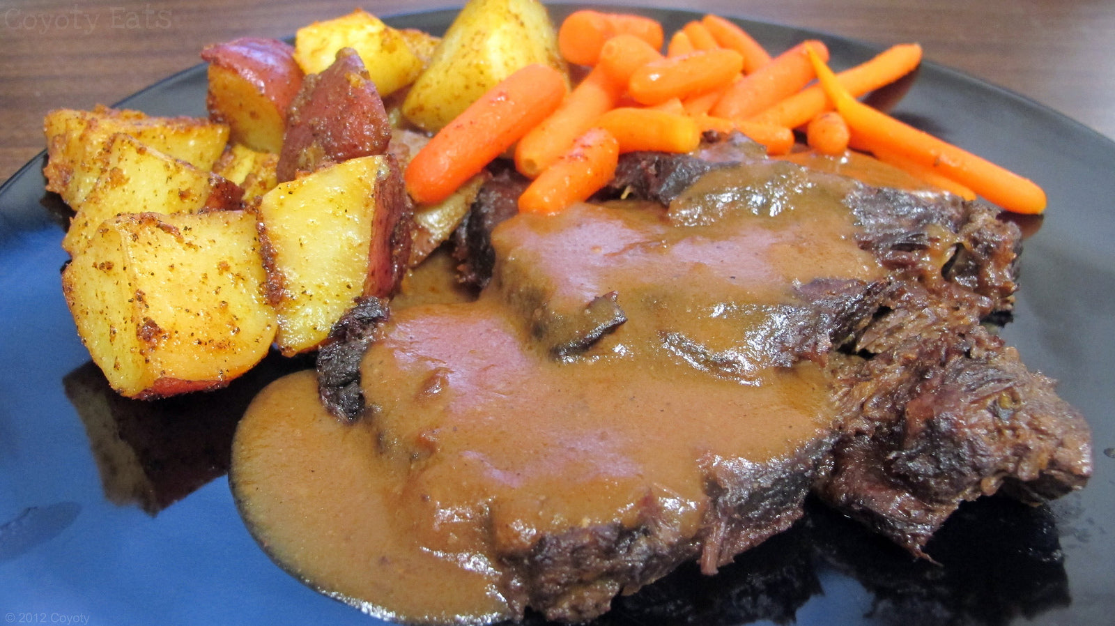 Incredible Pot Roast Dianne with Homemade Gravy