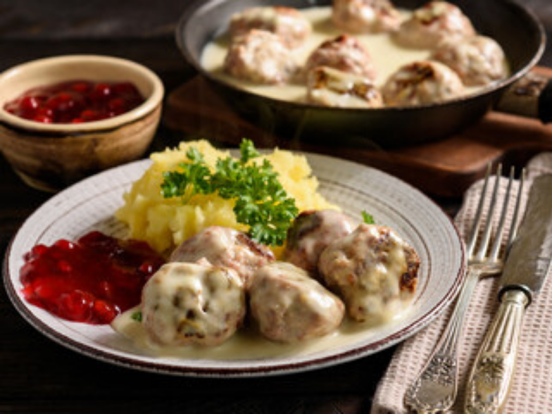 Creamy Swedish Meatballs in just 30 Minutes in VitaClay's Best Fast Slow Cooker
