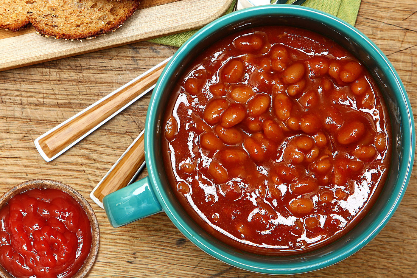 In VitaClay: The Best Baked Beans You've Ever Tasted!