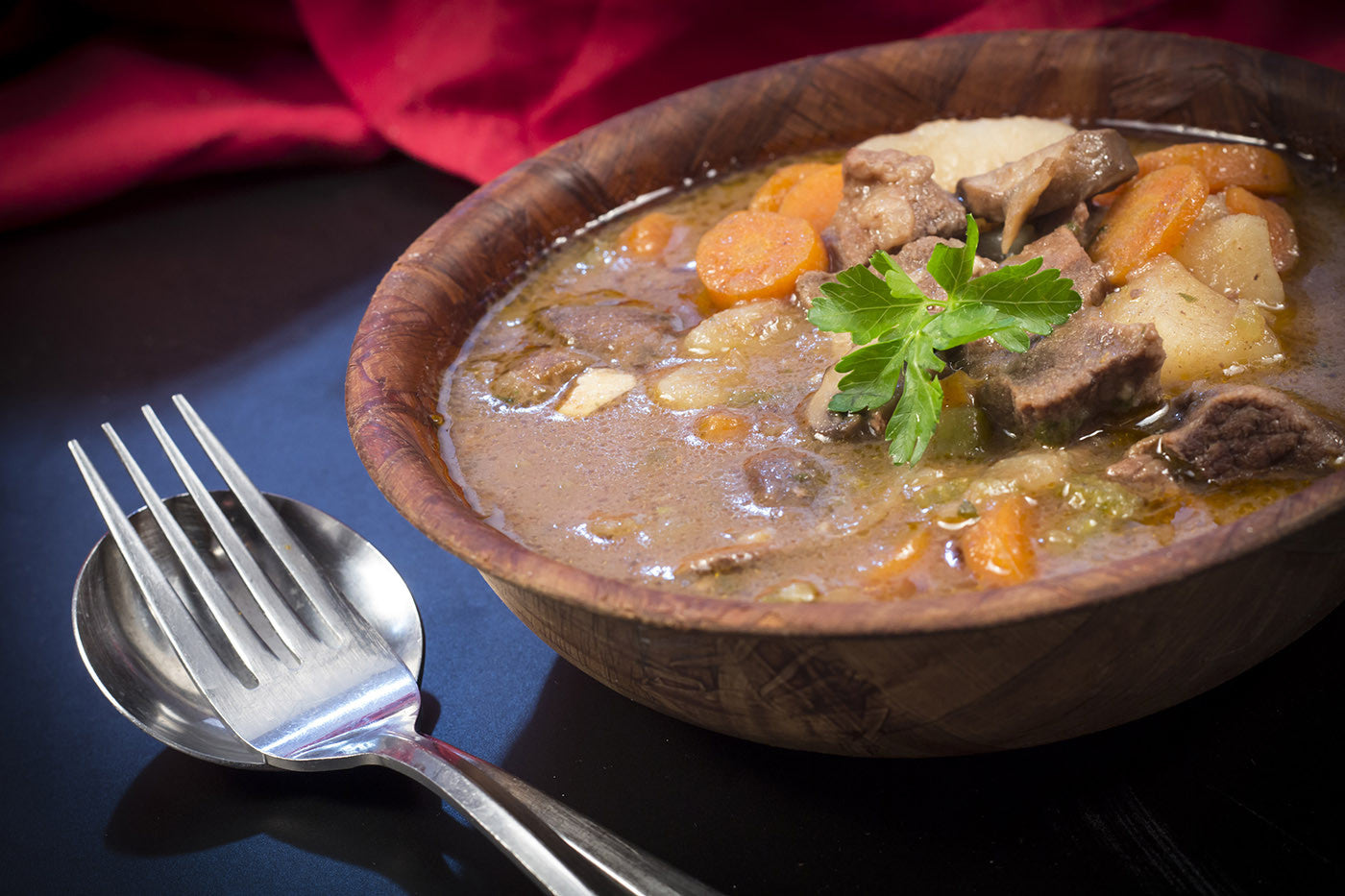 Slow Clay Cooked Hearty Irish Stew