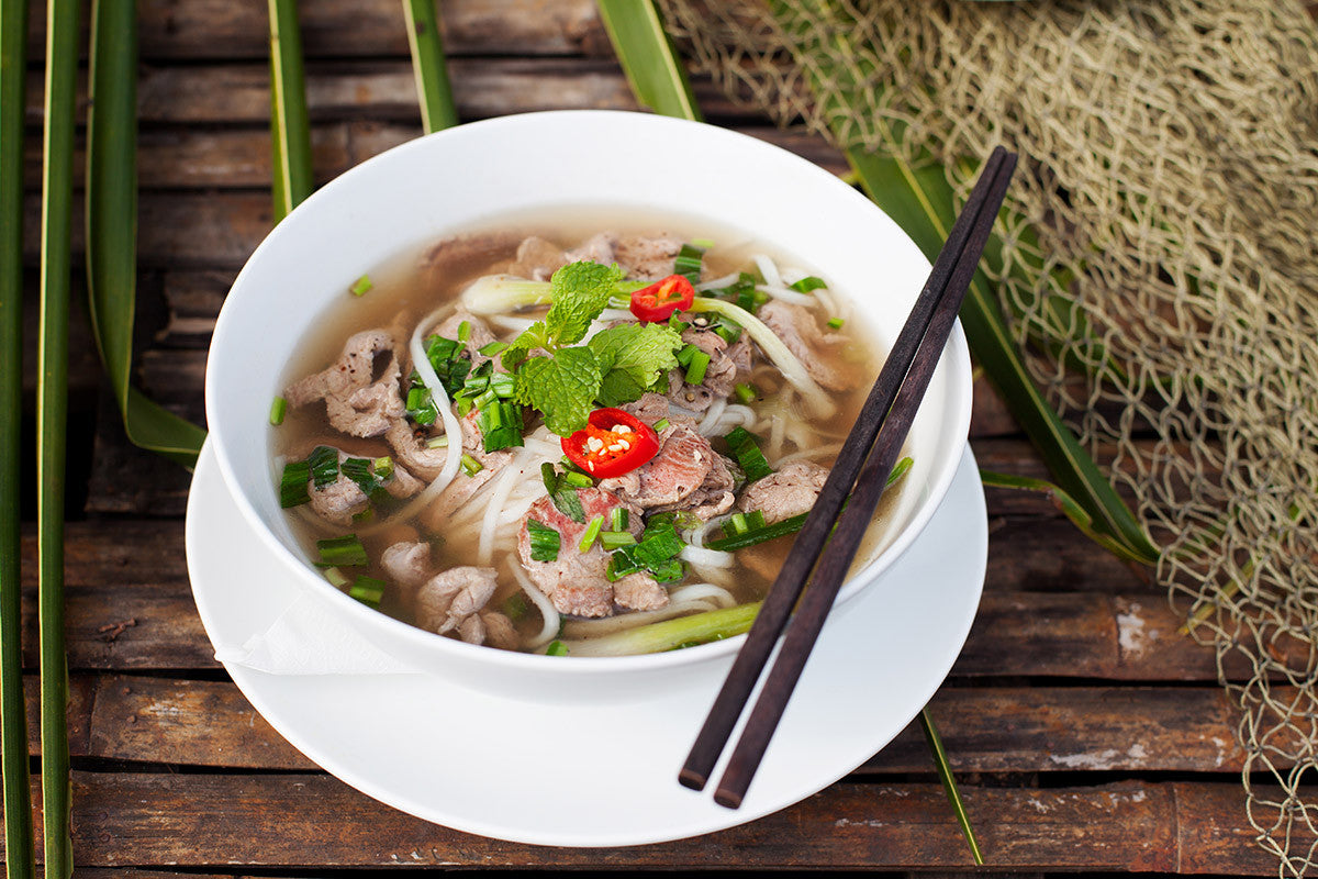 Traditional Vietnamese Pho Made in Your Kitchen