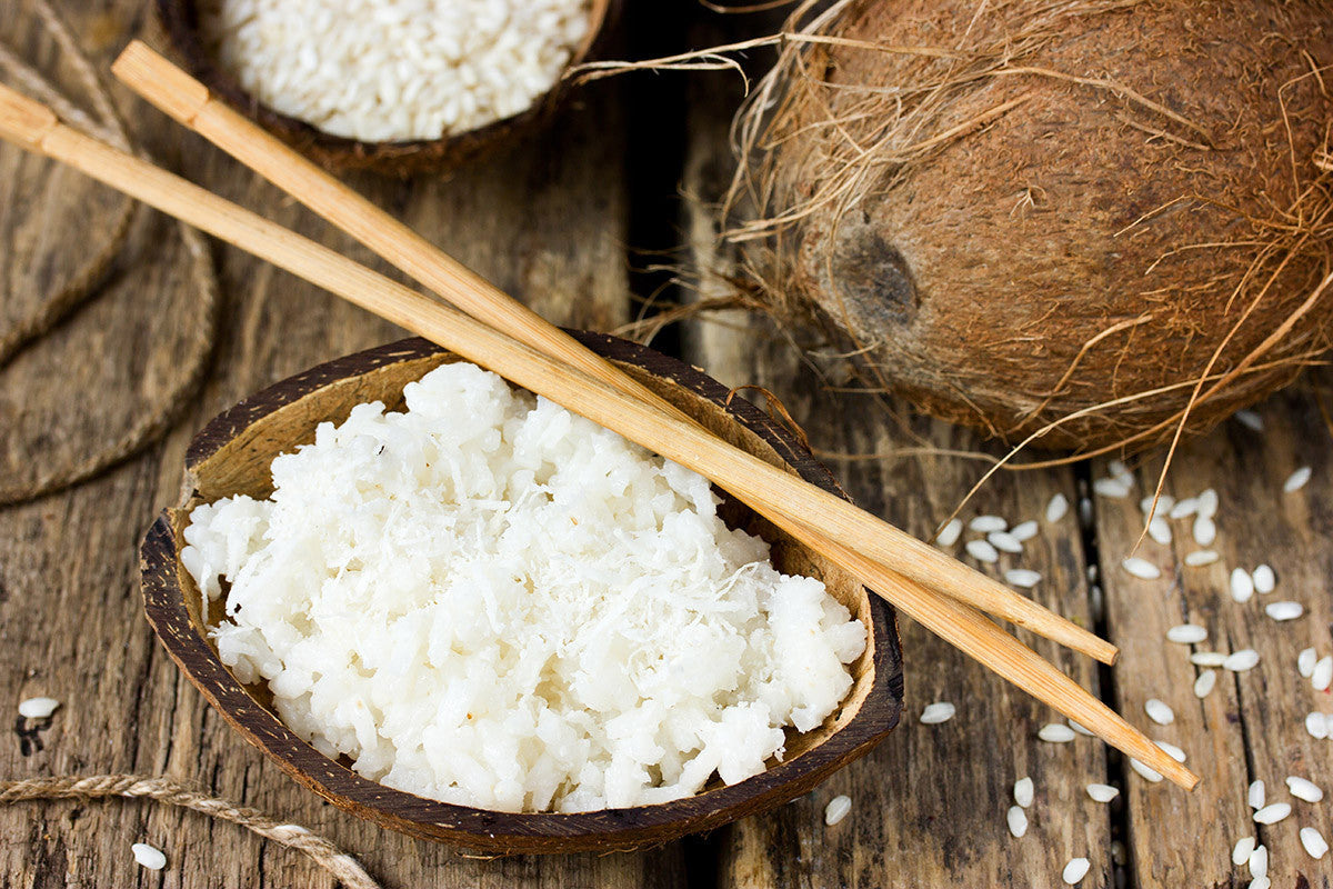 Creamy, Delicious, Fragrant Coconut Rice: Goes Great With Any Dish!