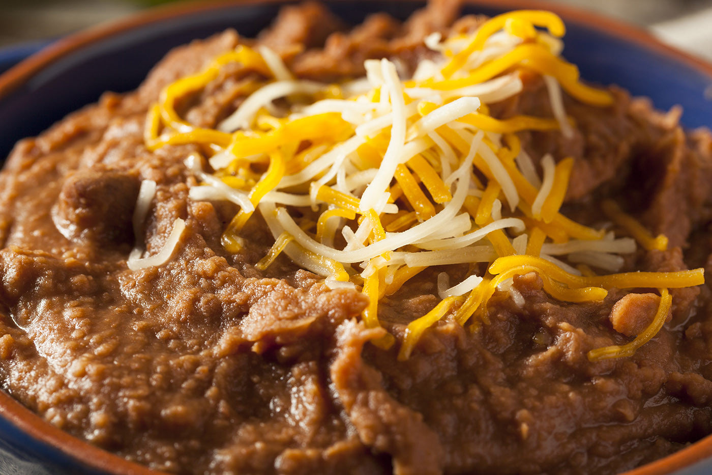 Spicy Mexican Refried Bean Dip