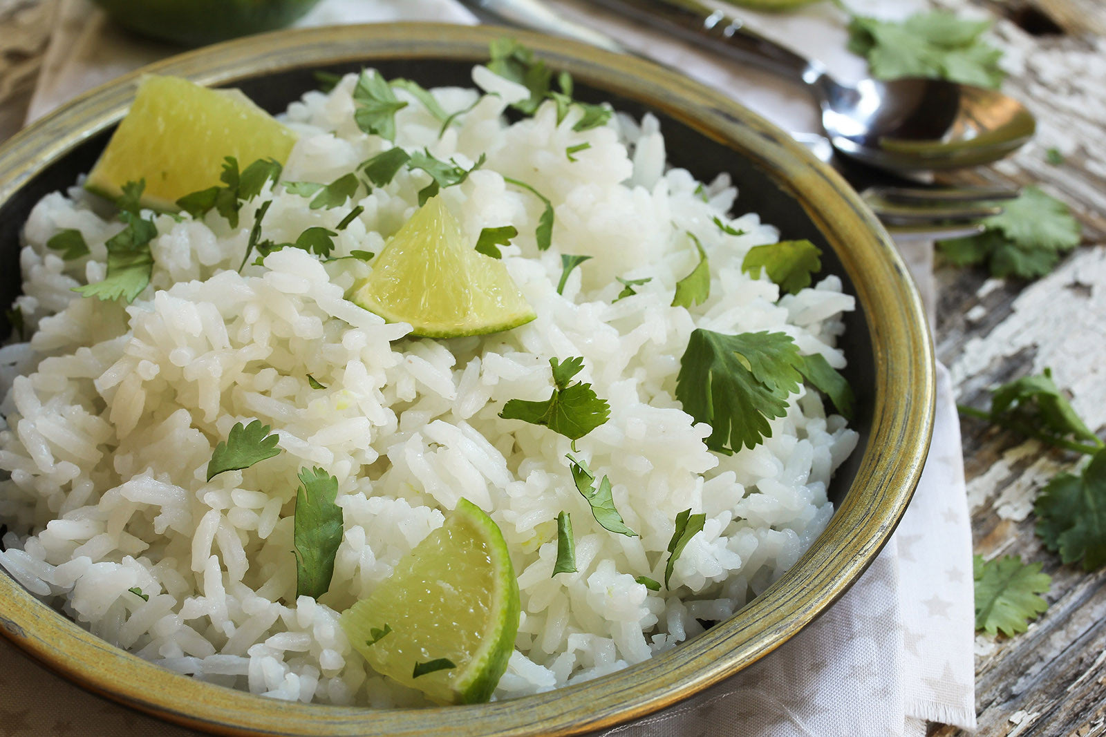 Cilantro Lime Rice Like Never Before in Clay