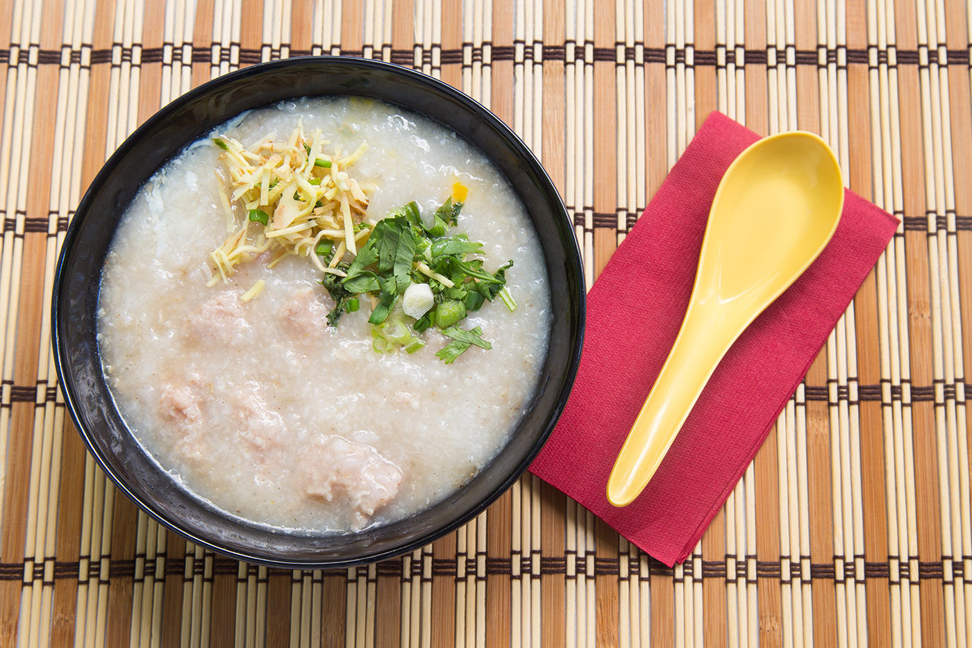 Asian Rice Porridge, Cooked to Perfection in Clay (Gruel, Jook, Zhou, Congee)