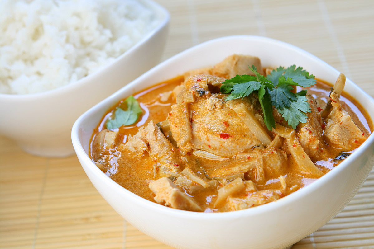 Thai Curry Chicken One Pot Dish: Delicious in Clay!