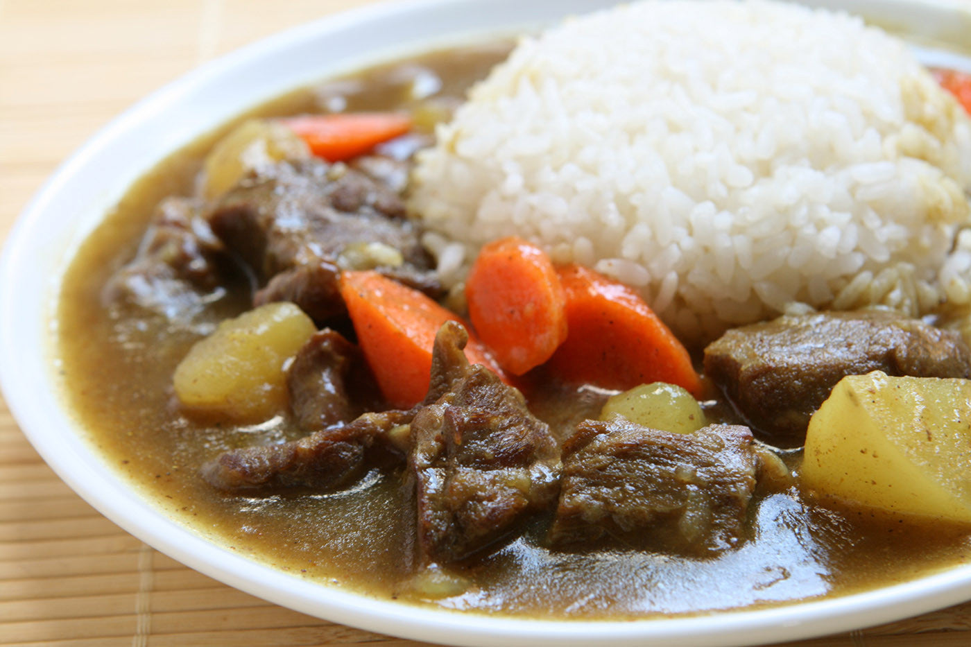 Slow Cooker Curry Beef Stew