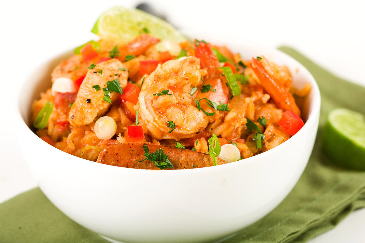 Fast And Easy Jambalaya-Inspired One-Pot Meal!