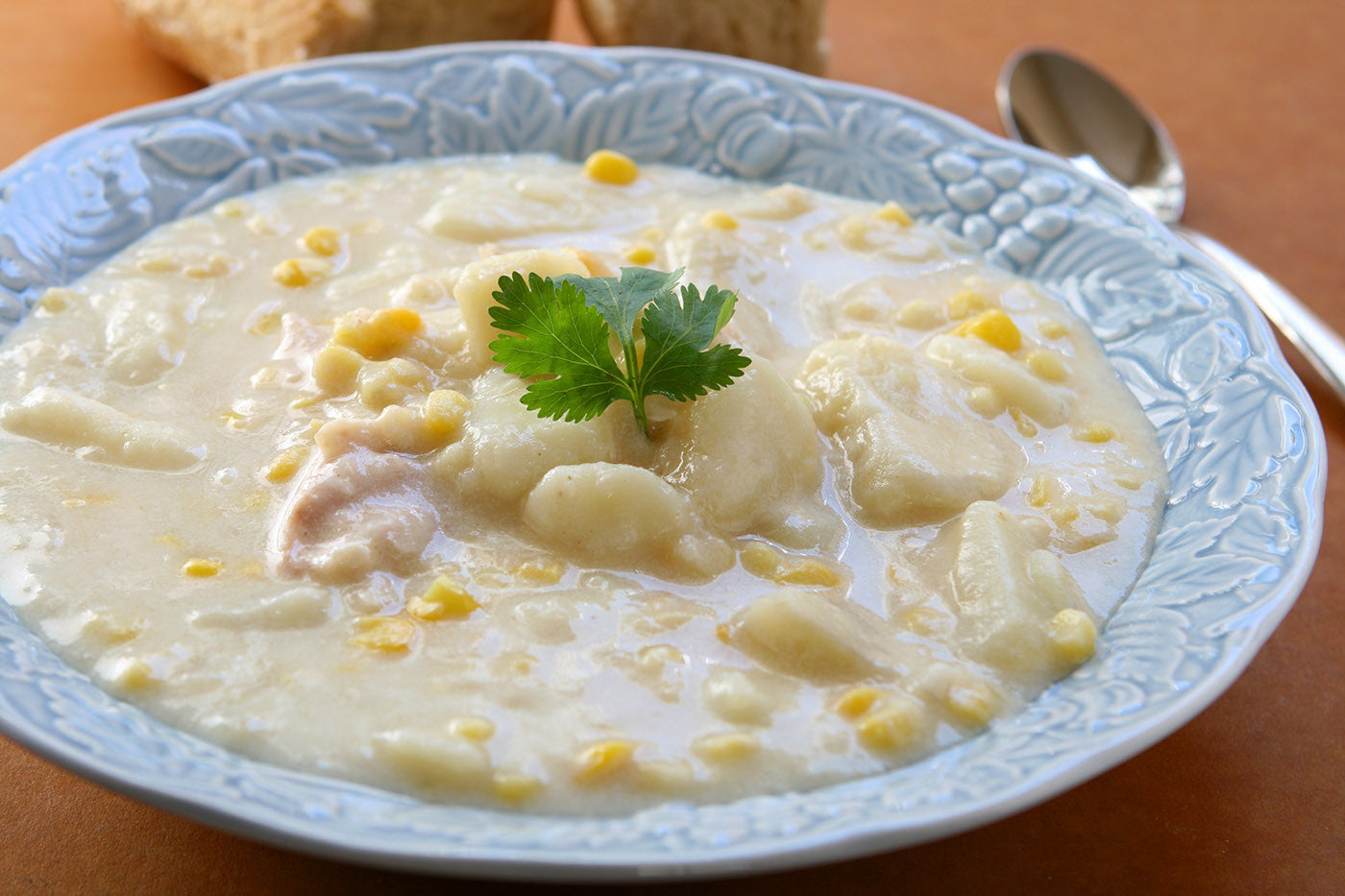 Soup Sundays! Potato Corn Chowder, Cooked to Perfection in Clay