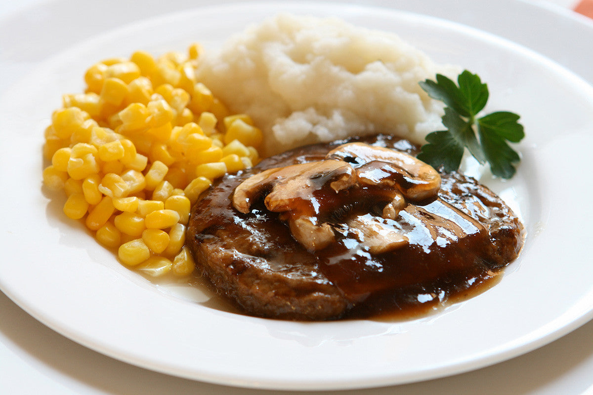 2-hour clay slow cooker Salisbury steak Recipe
