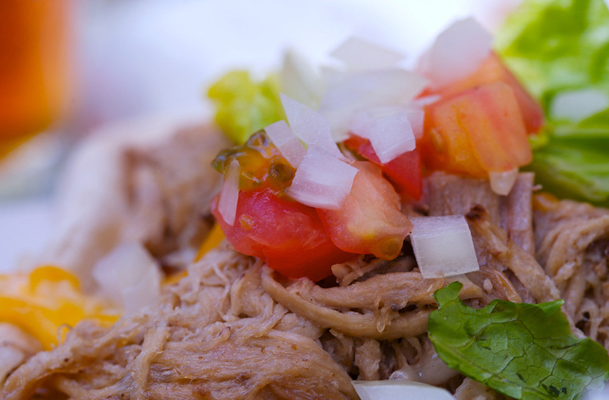 Spicy-Sweet Pineapple Shredded Chicken: Mix it Up!