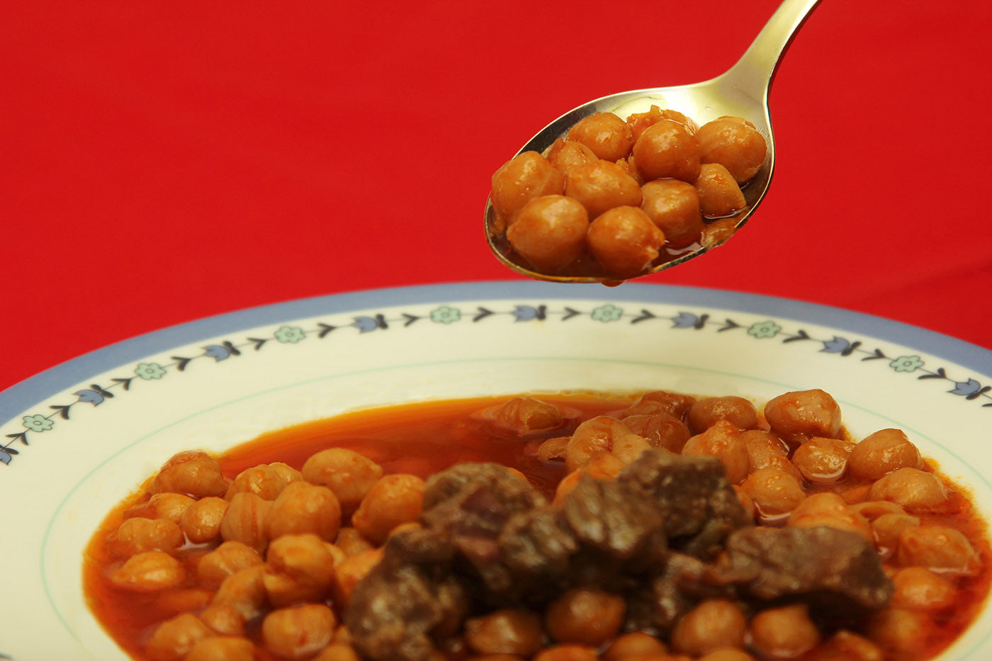 Clay Lamb Garbanzo Bean Stew for Couples