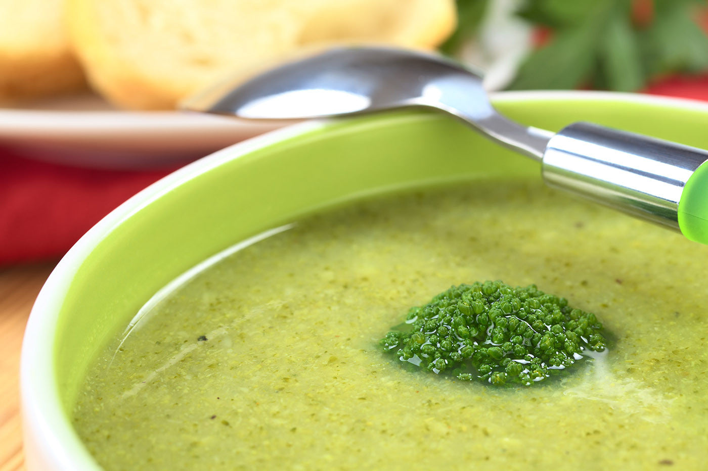 Green Veggie Soup to Boost Immunity