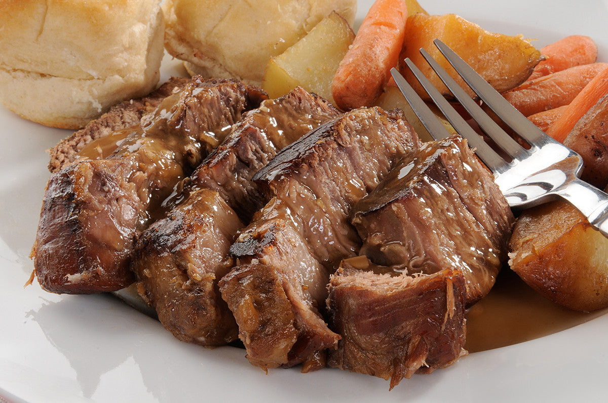 2 Hour Healthy Slow Cooker Pot Roast Recipe