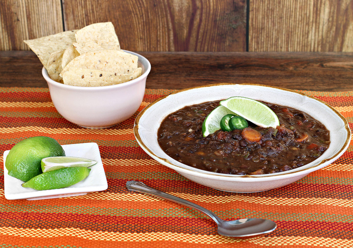 Clay Pot Smoked Black Bean Stew