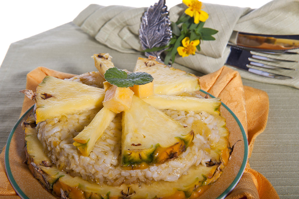 VitaClay Pineapple Rice Pudding: a Special Treat with a Tropical Twist!