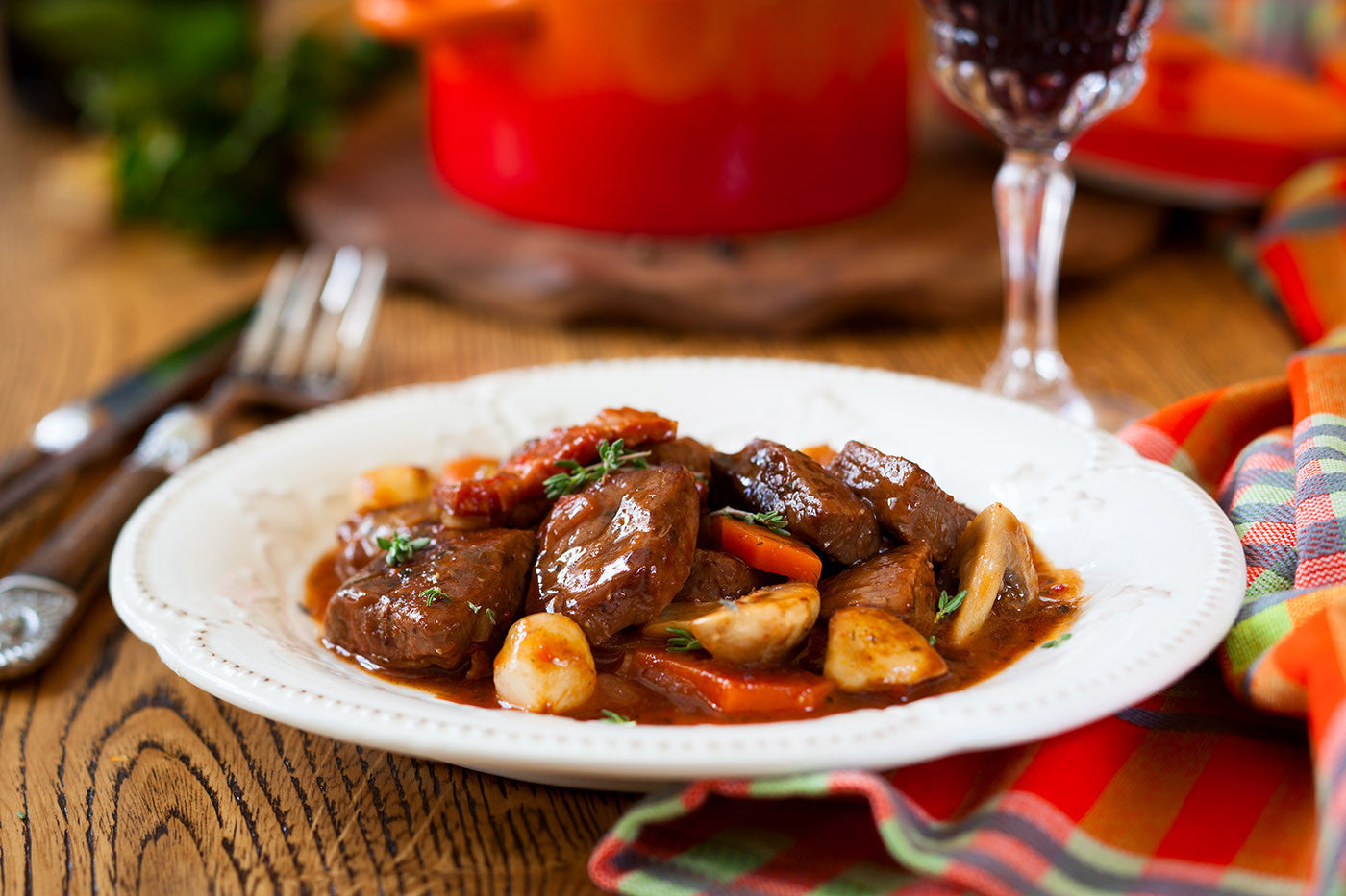 Try this Red Wine Beef Shallot Stew: Perfection in Clay!
