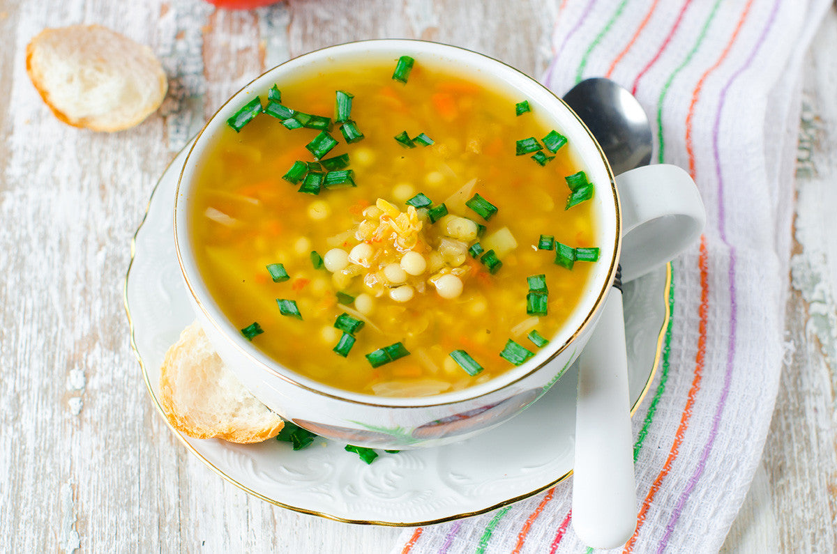 Slow Cooked Moroccan Lentil Soup Recipe