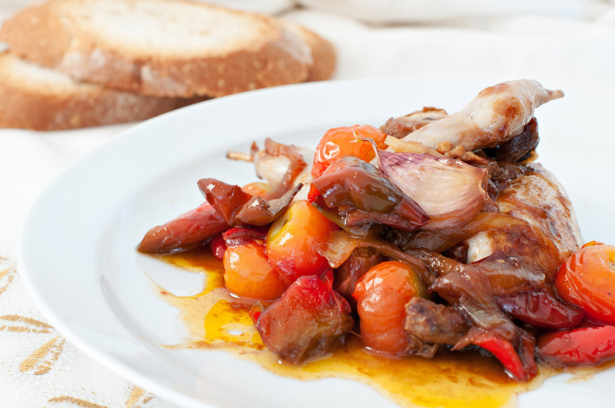 Slow Cooker Pheasant with Mushrooms and Olives
