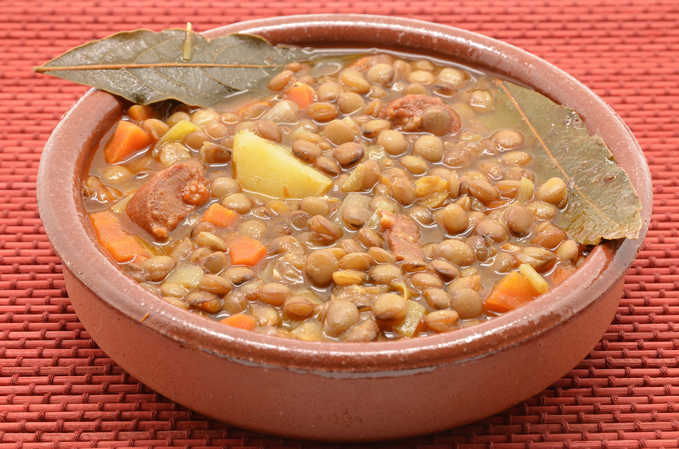 Slow Cooker: Middle Eastern Style Lentil Stew