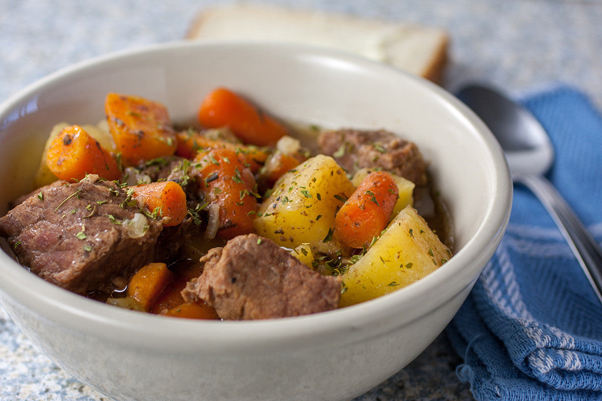 2 hour Paleo slow cooker beef stew recipe