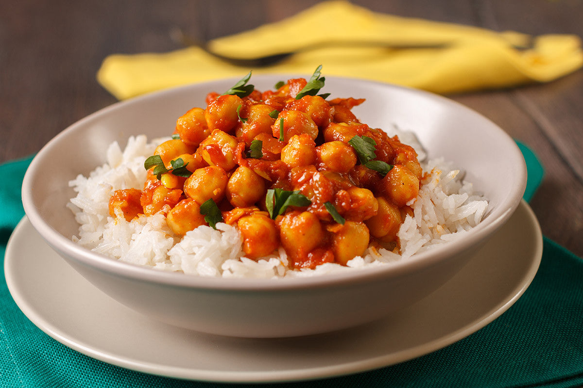 Slow Cooker Vegetable and Chickpea Curry Recipe for Vitaclay