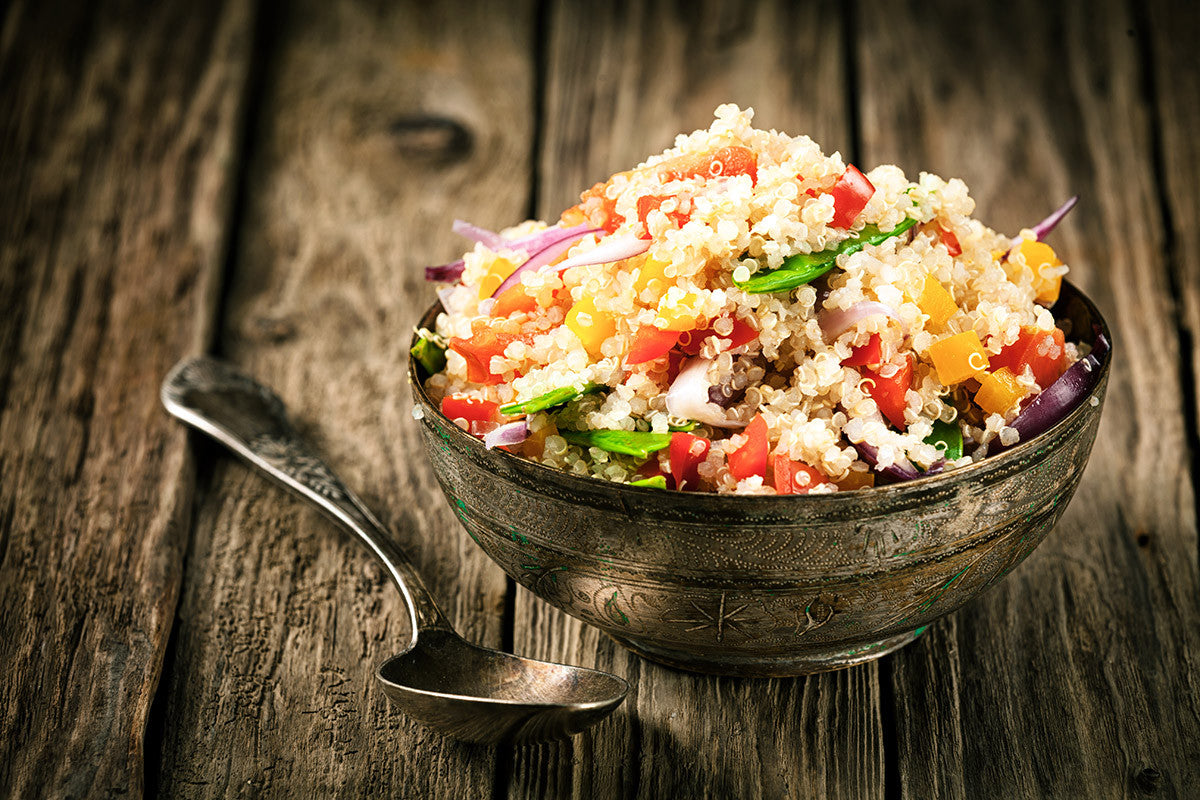 Fuel Your Family: Vegetarian Black-Bean and Tomato Quinoa