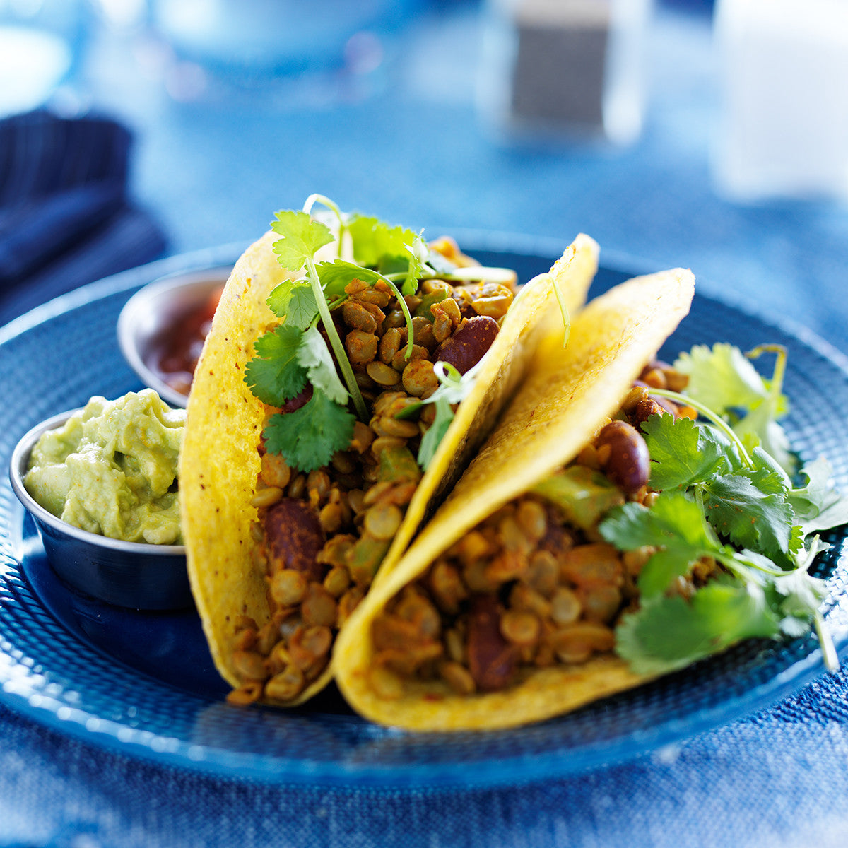 Slow Cooker: Lentil And Quinoa Tacos!