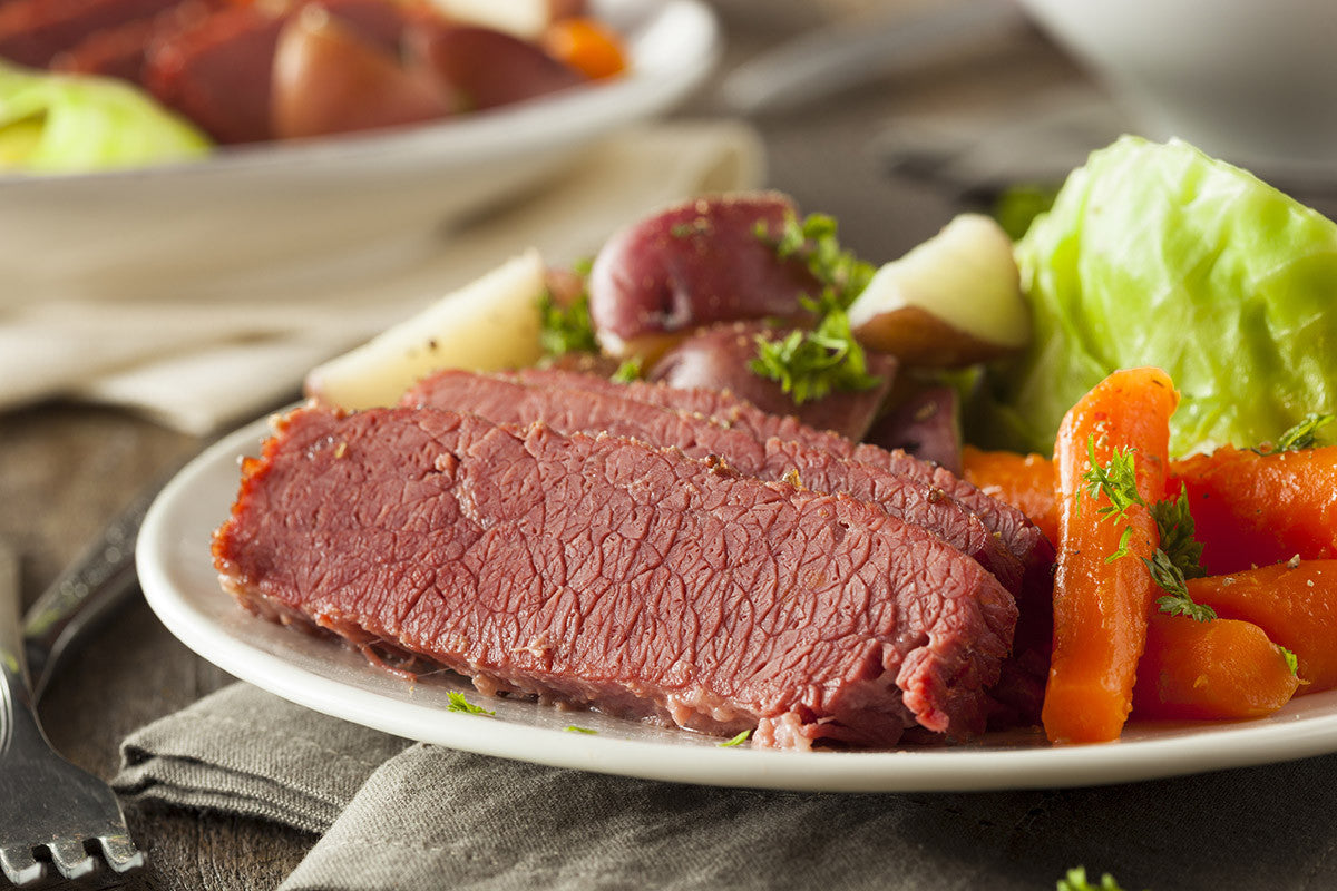 One Pot Wednesdays with VitaClay! Corned Beef One Pot Meal