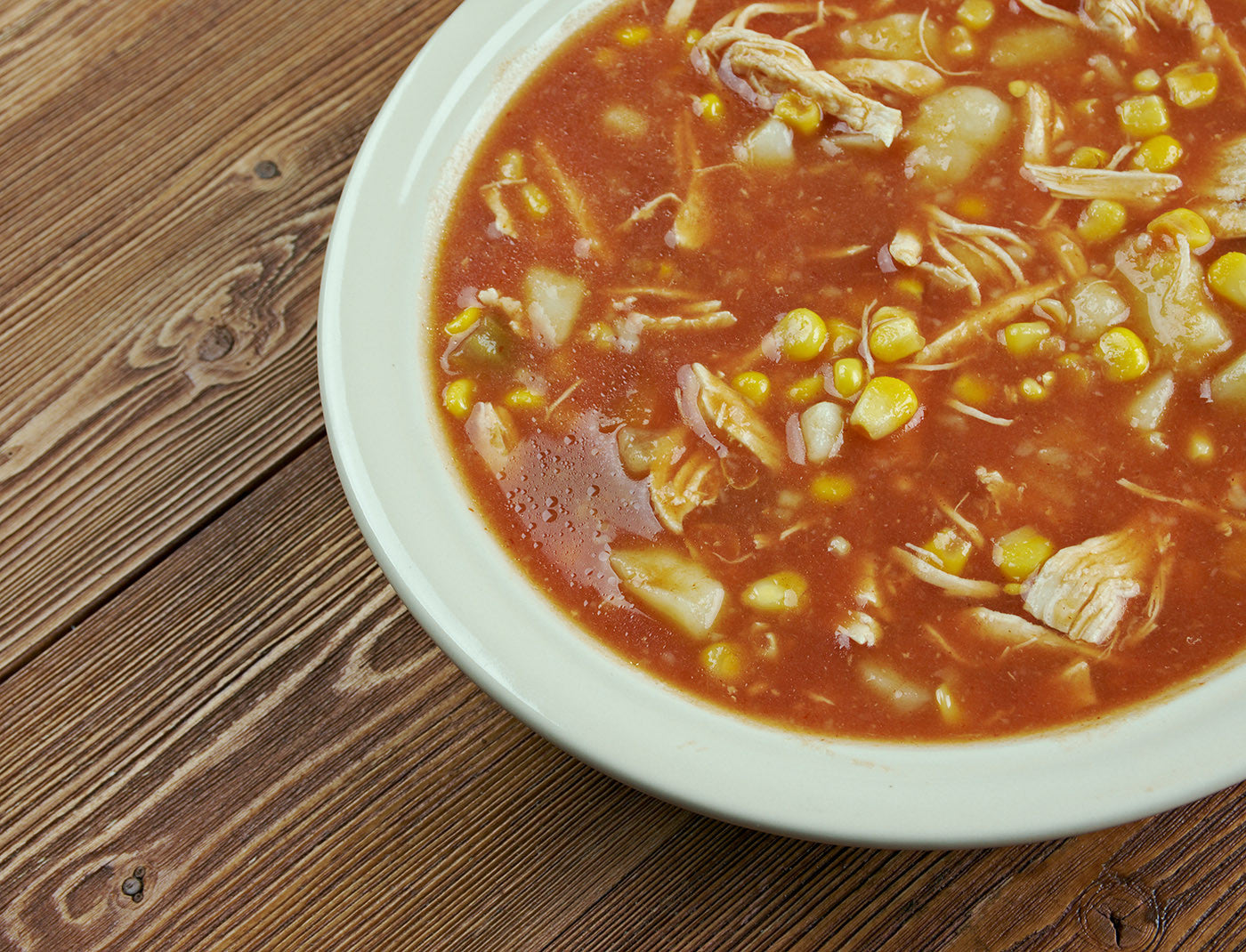 "New Brunswick Stew, AKA ""Leftover Stew Surprise!"" Great in VitaClay!"
