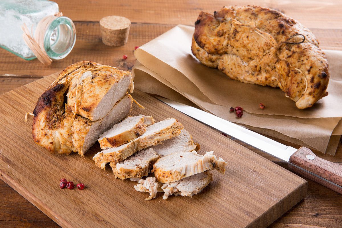 Herb-Roasted Turkey Breast in VitaClay Fast Slow Cooker,