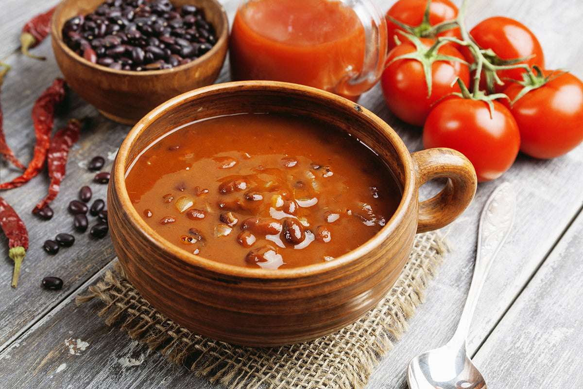 The Slow Cooker Vegetarian Red Bean Chili Recipe