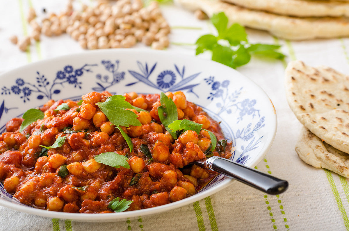 Slow Cooker: Curried Vegetable Chickpea Stew