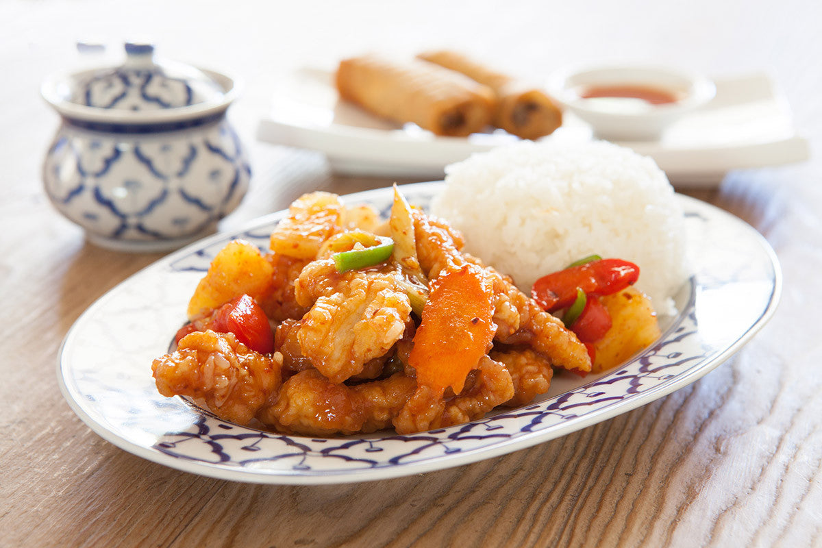 Delicious, Nutritious Homemade Sweet & Sour Chicken!
